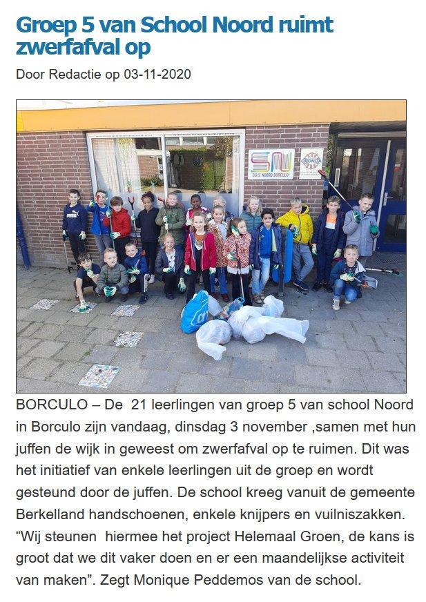 school-noord-borculo-zwerfafval-opruimen